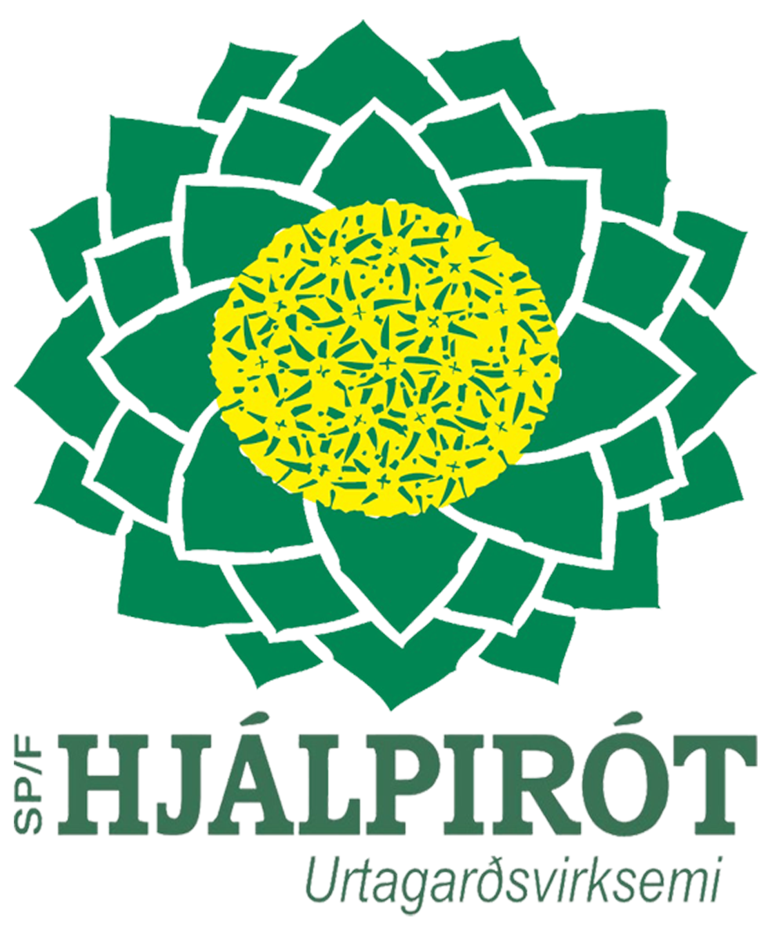 Hjálpirót Retina Logo